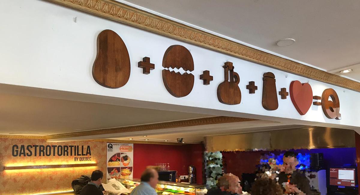 Norneón rótulo corpóreo fabricado en madera