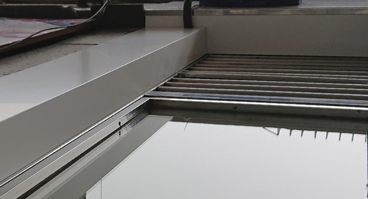 Norneón revestimieto de fachadas mediante panel dibond composite 5